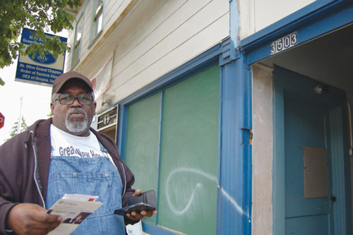 Ready to say goodbye to one of the last black-owned corners of Mississippi Avenue?